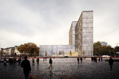 Wettbewerbsgewinn – LVR Haus Köln