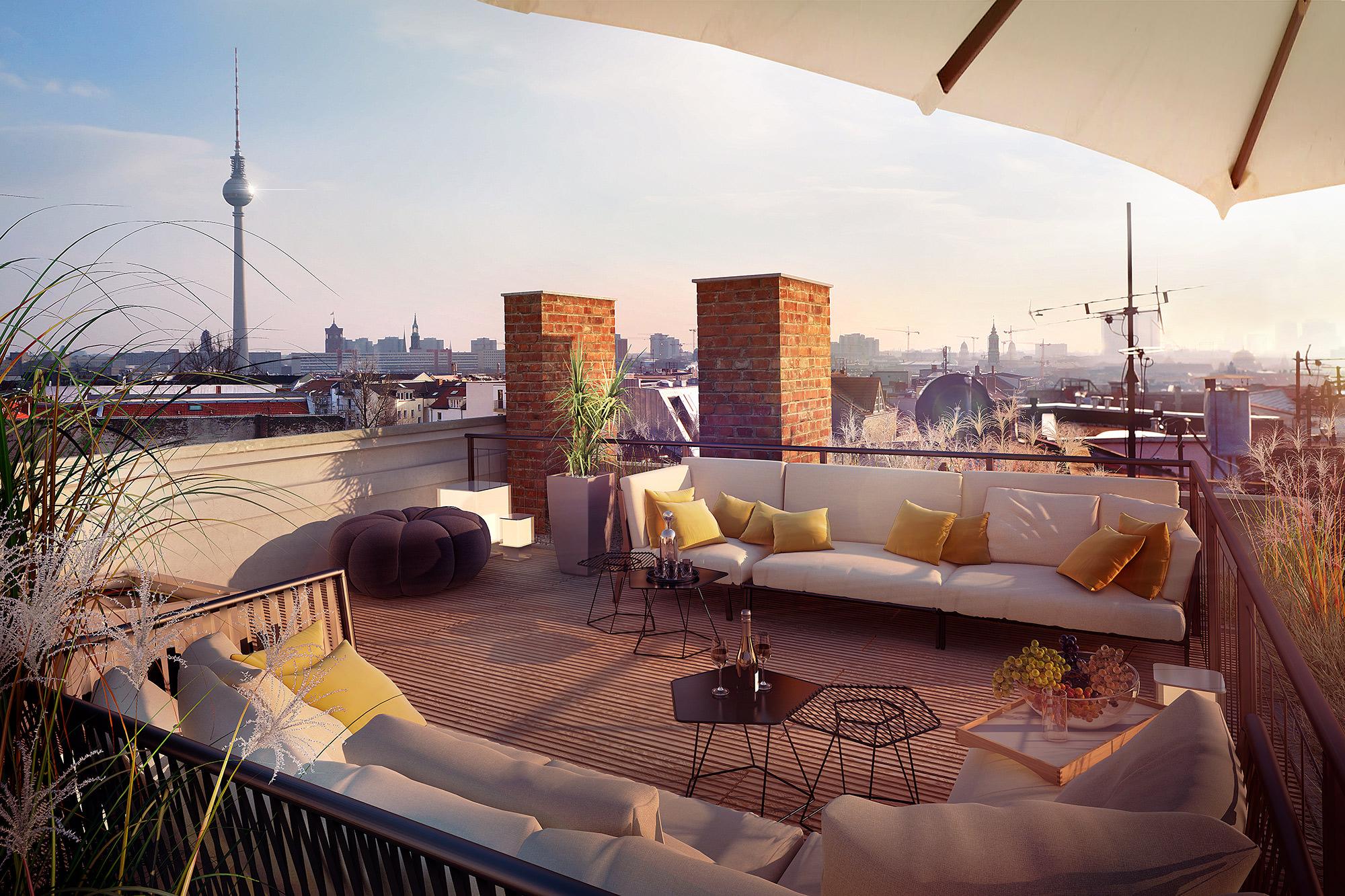 Berlin rooftop