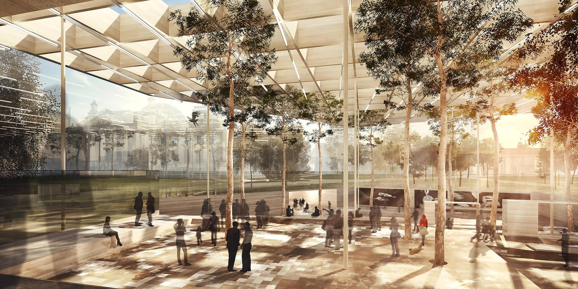 Besucherzentrum Bundestag